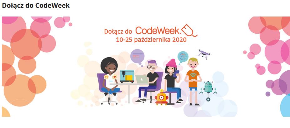 CodeWeek 2020 - Zapraszamy do udziału!