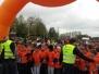 Nasi uczniowie w biegu młodzieżowym przy C.H. Millenium w Rzeszowie - 25.10.2017 r.
