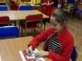 """""""Listy do…M."""" – Mikołajki w bibliotece szkolnej - 09.12.2017 r."""