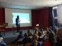 Wizyta Bhumi Dalia, stypendystki polsko - amerykańskiej fundacji Fulbrighta w naszej szkole!