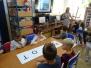 Lekcje europejskie w bibliotece szkolnej - 30.10.2018 r.